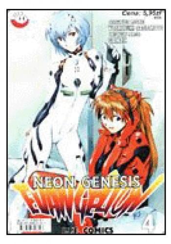 Okładka książki Neon Genesis Evangelion 4/01: