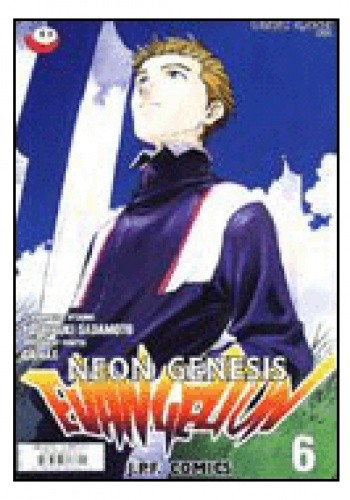 Okładka książki Neon Genesis Evangelion 6/01: