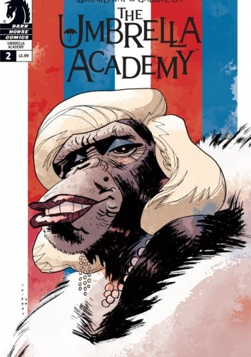 "Okładka książki The Umbrella Academy: Dallas #2:""Boy Scouts"""