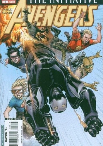 Okładka książki Avengers: The Initiative #2