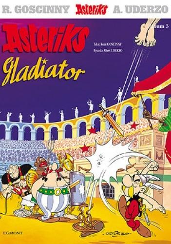 Okładka książki Asteriks gladiator