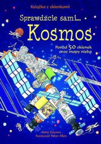 Okładka książki Kosmos. Książka z okienkami
