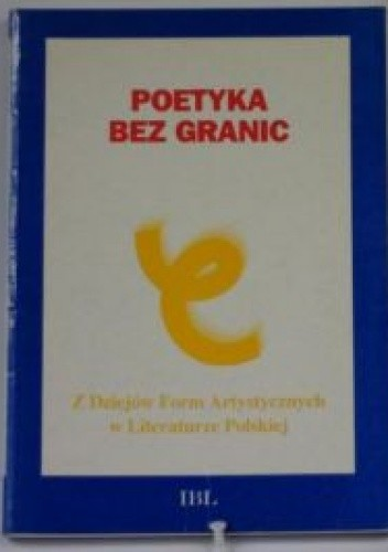Okładka książki Poetyka bez granic