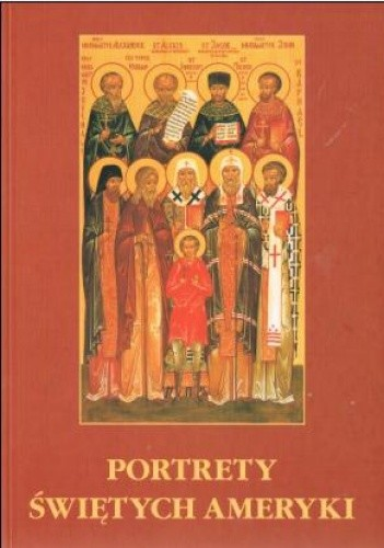Okładka książki Portrety świętych Ameryki