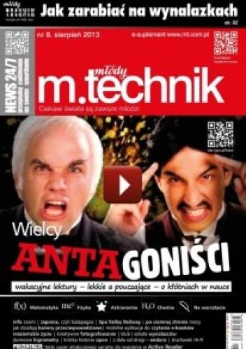 Okładka książki Młody Technik, nr 8 / sierpień 2013