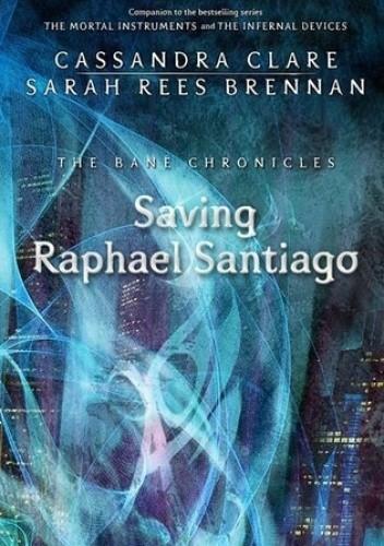 Okładka książki Saving Raphael Santiago