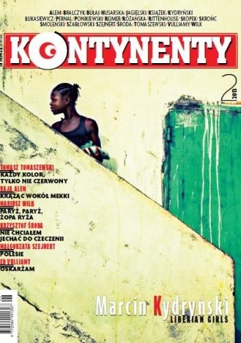Okładka książki Kontynenty nr 2/2013