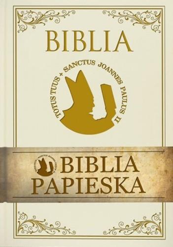 Okładka książki Biblia Papieska - Pismo Święte Starego i Nowego Testamentu