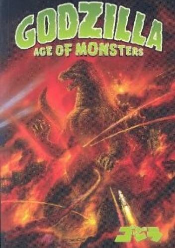 Okładka książki Godzilla: Age of Monsters