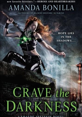 Okładka książki Crave the Darkness