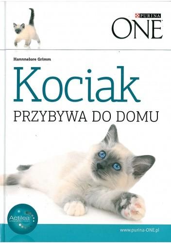 Okładka książki Kociak przybywa do domu