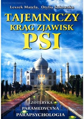 Okładka książki Tajemniczy krąg zjawisk PSI