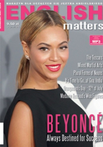 Okładka książki English Matters, 41/2013 (lipiec/sierpień)
