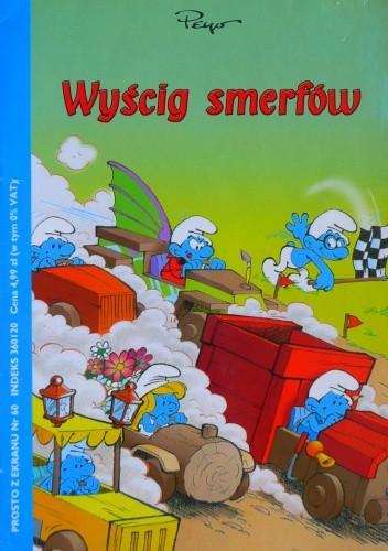 Okładka książki Wyścig smerfów