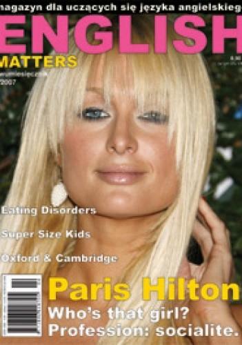 Okładka książki English Matters, 5/2007 (czerwiec/lipiec)