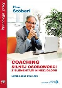 Okładka książki Coaching silnej osobowości z el.kinezjologii