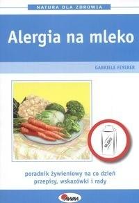 Okładka książki Alergia na mlekoNatura dla zdrowia