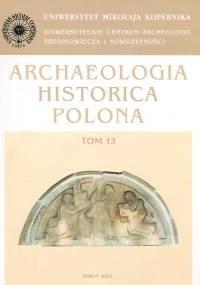 Okładka książki Archeologia XIII
