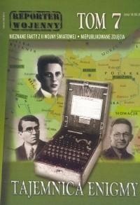 Okładka książki Tajemnica enigmy t.7 Reporter - Praca zbiorowa
