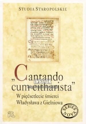 Okładka książki Cantando cum citharista - praca zbiorowa