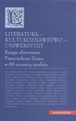 Okładka książki Literatura - kulturoznawstwo - Uniwersytet