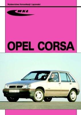 Okładka książki Opel Corsa modele 1982-1993