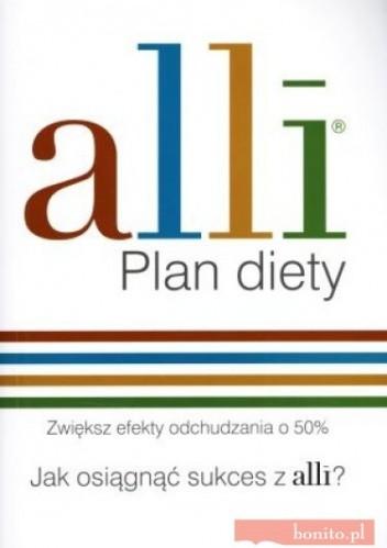 Okładka książki Alli. Plan diety