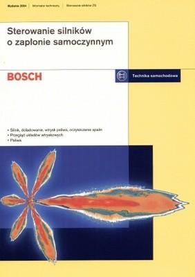 Okładka książki Bosch. Sterowanie silników o zapłonie samoczynnym