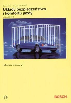 Okładka książki Bosch. Układy bezpieczeństwa i komfortu jazdy