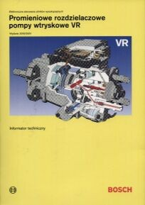 Okładka książki Promieniowe rozdzielaczowe pompy wtryskowe VR