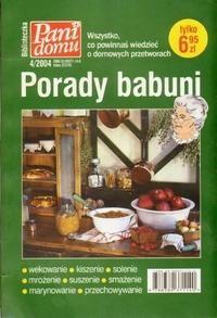 Okładka książki Porady babuni. Wszystko, co powinnaś wiedzieć o domowych przetworach