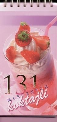 Okładka książki 131 mlecznych koktajli