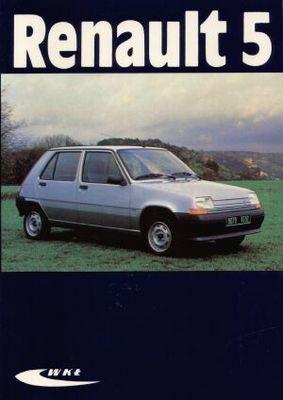 Okładka książki Renault 5