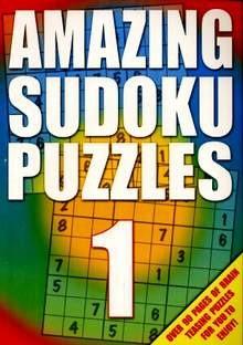 Okładka książki Amazing Sudoku puzzles 1