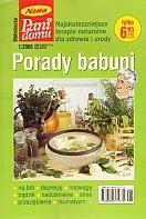Okładka książki Porady babuni. Tom IX. Najskuteczniejsze terapie naturalne dla zdrowia i urody