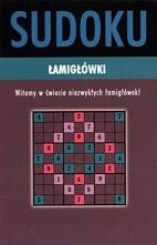 Okładka książki Sudoku. łamigłówki