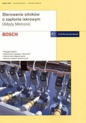 Okładka książki Bosch. Sterowanie silników o zapłonie iskrowym