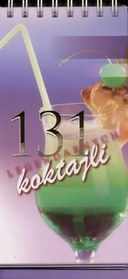 Okładka książki 131 legendarnych koktajli