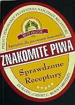 Okładka książki znakomite piwa - Sprawdzone receptury