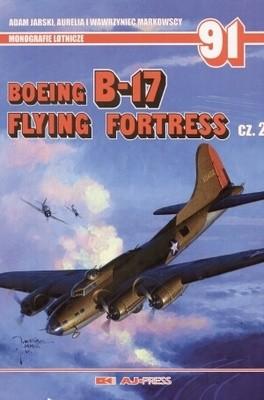 Okładka książki Boeing B-17 Flying Fortress. Część 2 (wersja polsko - angielska)