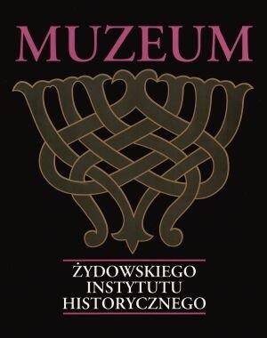 Okładka książki Muzeum Żydowskiego Instytutu Historycznego