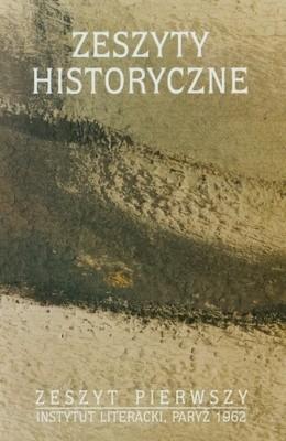 Okładka książki Zeszyty historyczne Tom 1