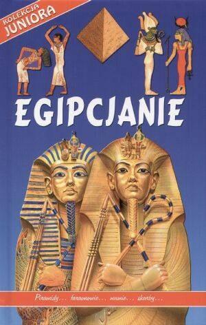 Okładka książki Egipjanie - praca zbiorowa