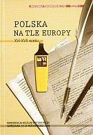 Okładka książki Polska na tle Europy XVI-XVII wieku