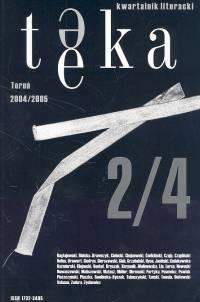 Okładka książki Teka 1 Kwartalnik