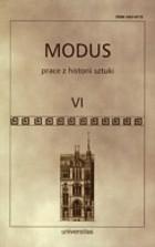 Okładka książki Modus. Prace z historii sztuki t. VI