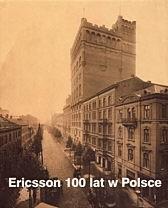 Okładka książki Ericsson. 100 lat w Polsce