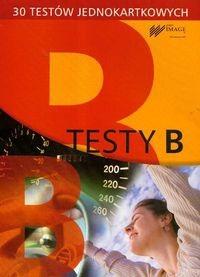 Okładka książki Testy B