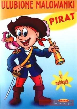 Okładka książki Pirat. Ulubione Malowanki