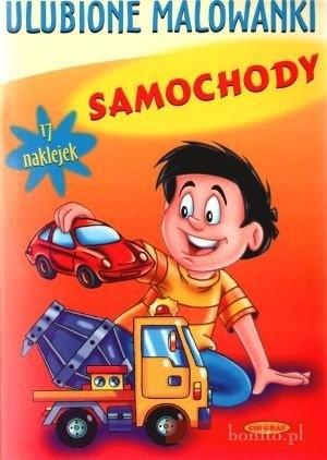 Okładka książki Samochody. Ulubione Malowanki